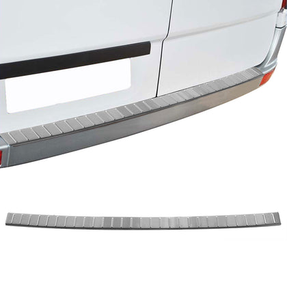 For VW Crafter  2006- 2017  Chrome Rear Bumper Sill Cover Brushed S.Steel