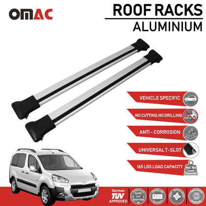 Roof Rack Cross Bars Luggage Carrier Silver Fits For BMW X5 2000-2006