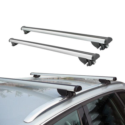 Roof Rack Cross Bars Luggage Carrier Silver for Audi A3 Sportback 2006-2013