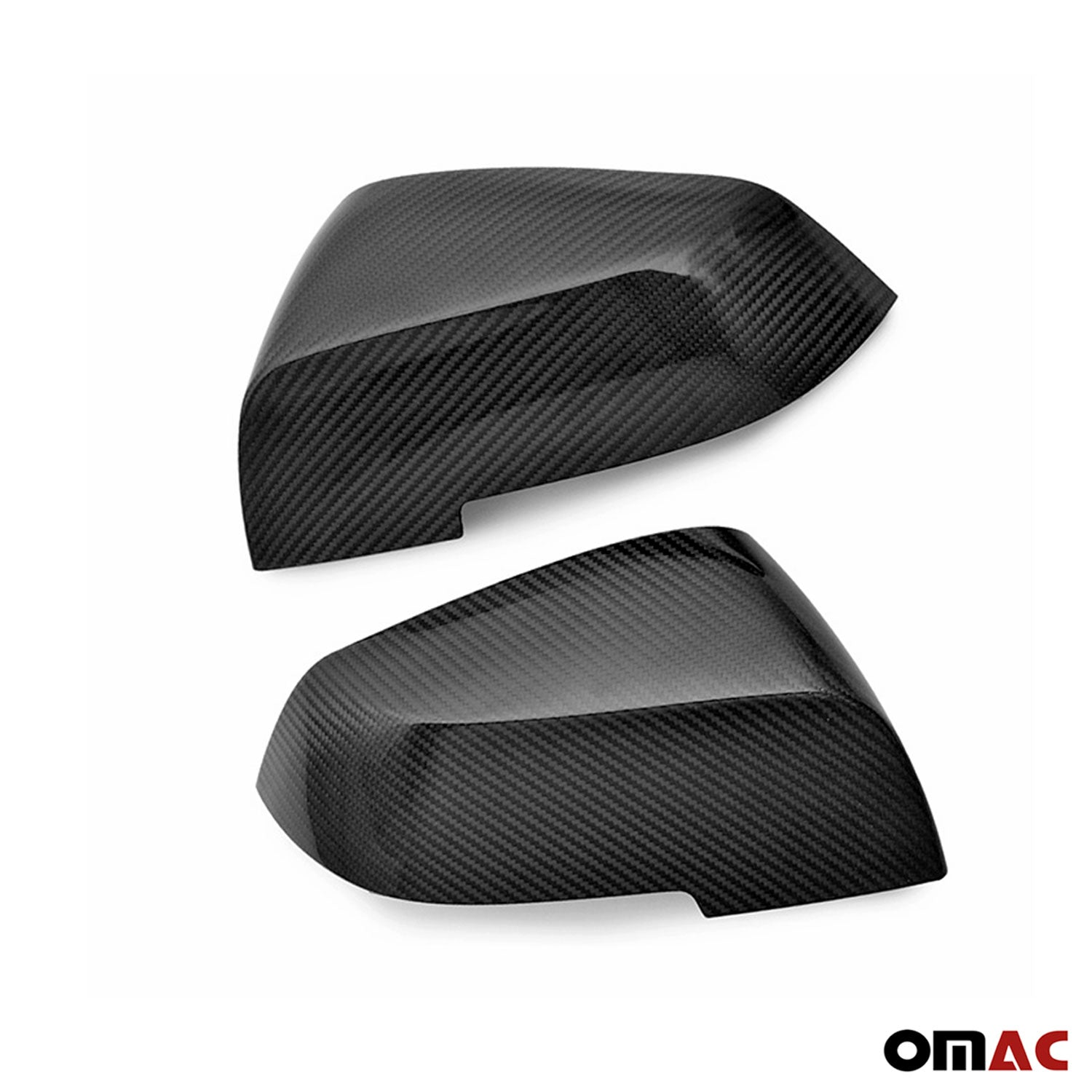 Fits BMW X1 E84 2013-2015 Genuine Carbon Fiber Side Mirror Cover Cap 2 Pcs