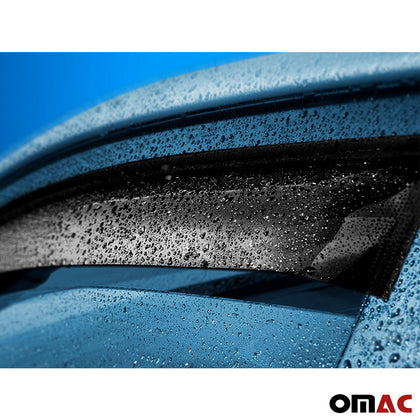 Omac usa - Side Window Vent Visor Rain Guards Air Deflector for BUICK ENCORE 2012- - Omac Shop Usa - Auto Accessories