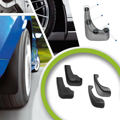 4 Pcs Front and Rear Splash Guard Shield Mud Flaps Set for Nissan Juke 2011-2015 Omac Shop Usa - Auto Accessories