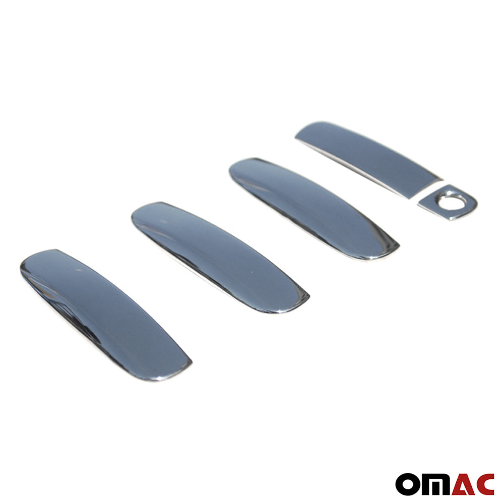 Fits Audi A3 1996-2003 Chrome Side Door Handle Cover Protector Trim Steel 5 Pcs