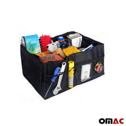 Trunk Cargo Organizer Folding Collapse Bag Bin For Audi A6 Avant 2019-2020
