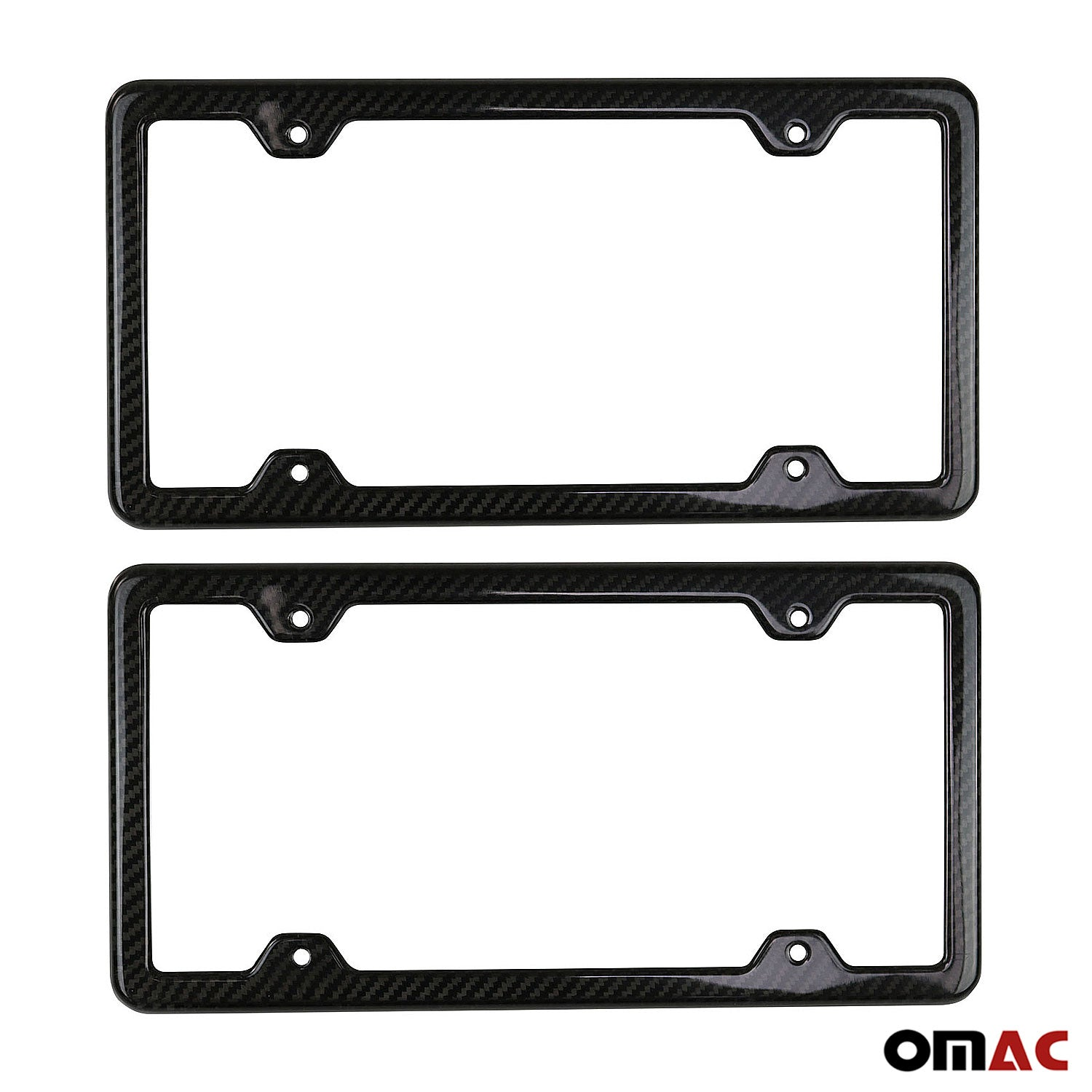 VAUXHALL ASTRA 04-09 2x Chrome Number Plate Surrounds Holder Frame