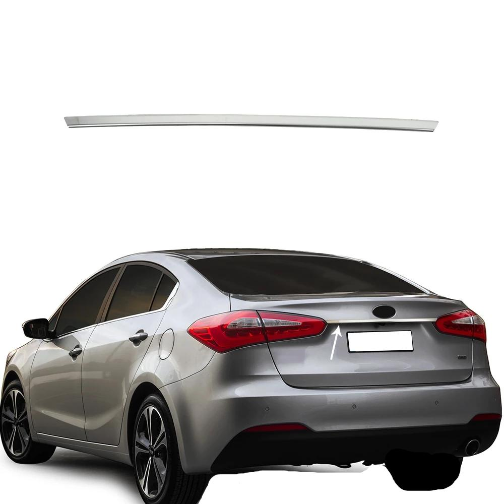 Fits Kia Forte 2014-2018 4 Dr Chrome Trunk Lid Grab Handle Trim Cover Stainless