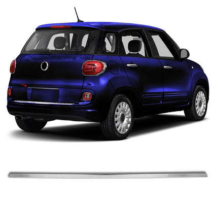 Chrome Trunk Tailgate Grab Handle Trim Cover S.Steel For Fiat 500L 2014-2018