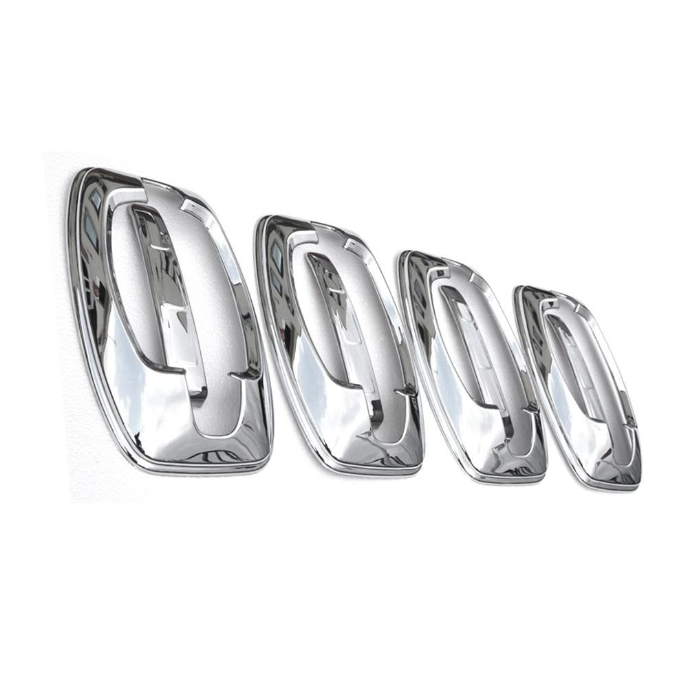 Fits RAM Promaster 2015-2021 Chrome Door Handle Cover Protector Trim 8 Pcs