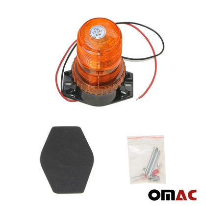 12V LED Warning Light Emergency Flashing Light Amber Color For Alfa Romeo - omacusa.myshopify.com