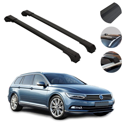 Roof Rack Cross Bars Luggage Carrier Fits Volkswagen Passat B5 Wagon 2 Omac Shop Usa Auto Accessories