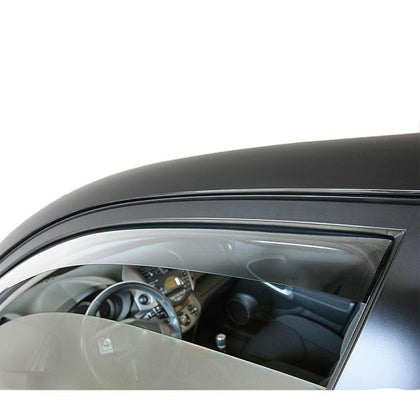 Omac usa - Side Window Smoke Vent Visor Rain Guards Air Deflector for AUDI A4 (B9) SD 2016- - Omac Shop Usa - Auto Accessories