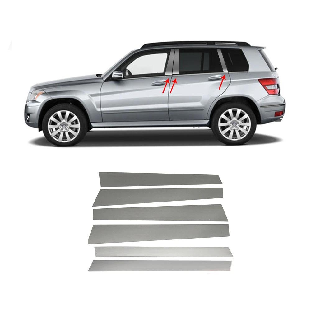 Works with 2013-2015 Mercedes-Benz GL 10PC Stainless Steel Chrome Pillar Post Trim Made in USA