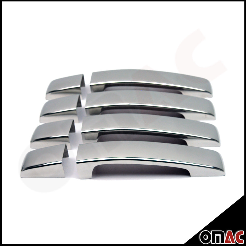 Fits Land Rover LR2 2008-2015 Chrome Stainless Door Handle Cover Protector Set