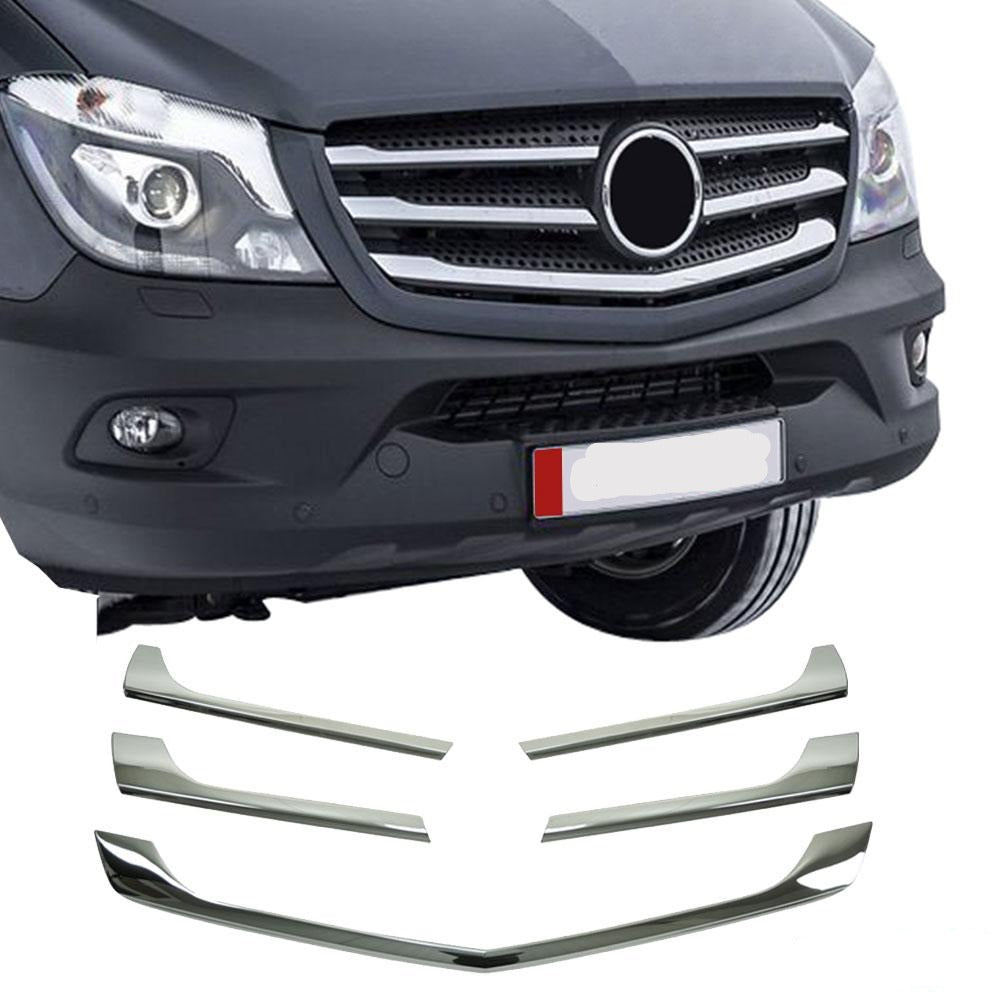 Chrome Grille Trims To Fit Sprinter W907 2018+