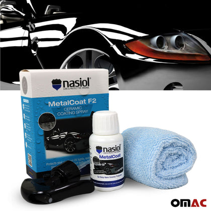 NASIOL Metalcoat F2 1.7 Oz Quick Nano Paint Protection Ceramic Coating Spray