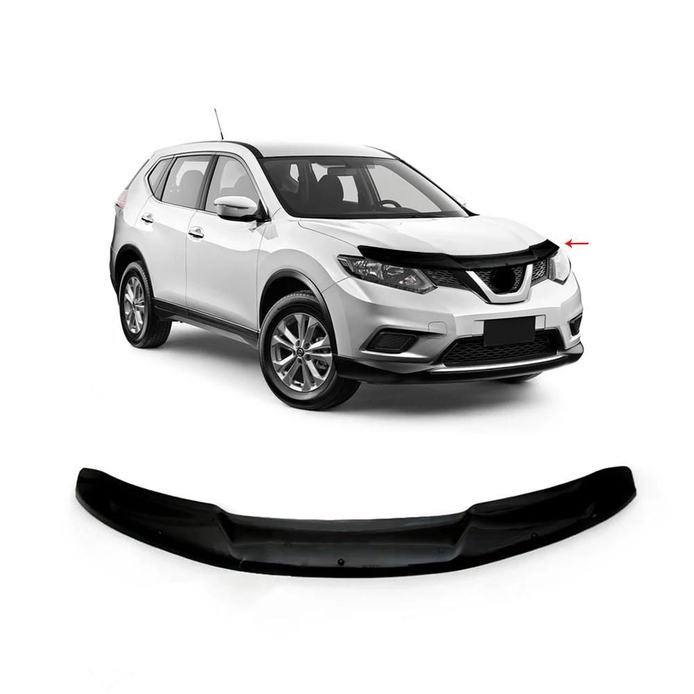 AUTOMUTO Hood Shield Bug Deflector Guard Bonnet Protector Hood Protection for 2018-2020 for Nissan Rogue
