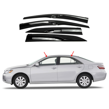 Side Window Smoke Vent Visor Rain Guards Deflector for Toyota Camry 2007-2010