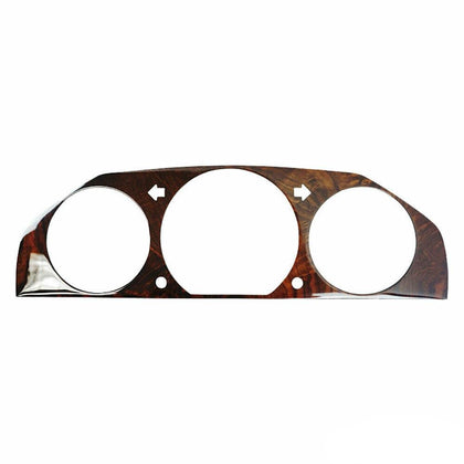 Fits Mercedes Benz E Class W124 1985-1996 Speedometer Frame Walnut Genuine Wood