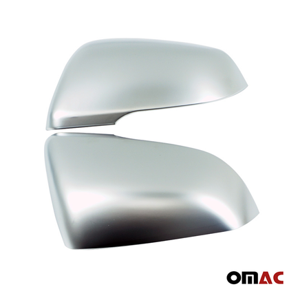 Fits BMW X1 F48 2016-2019 Matte Chrome Side Mirror Cover Protector Cap 2 Pcs Omac Shop Usa - Auto Accessories