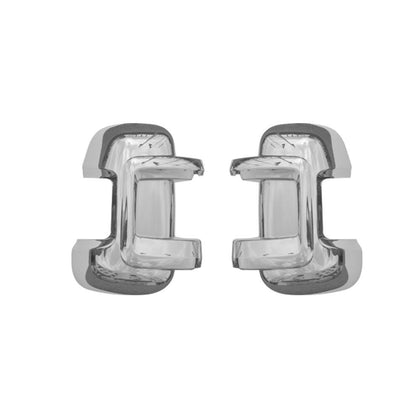 Fits RAM Promaster 2014-2020 Chrome Side Mirror Cover Cap 2 Pcs Omac Shop Usa - Auto Accessories