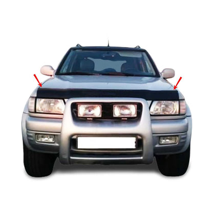 Bug Shield Hood Deflector Guard Bonnet Protector for Isuzu Rodeo 1998-2004 Omac Shop Usa - Auto Accessories