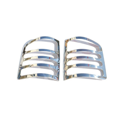 Fits VW Transporter 2003-2015 Chrome Brake Light Frame Trim Cover S.Steel 2 Pcs Omac Shop Usa - Auto Accessories