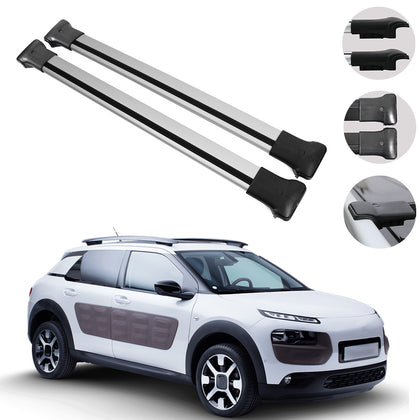 Roof Rack Cross Bars Luggage Carrier For Citroen C4 Cactus 2014-2020