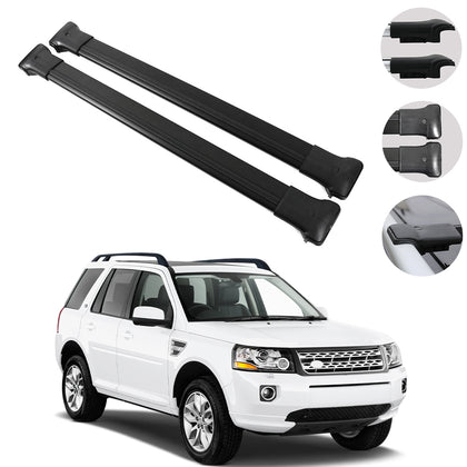 Roof Rack Cross Bars Luggage Carrier  for Land Rover Freelander 2 L359 2007-2014