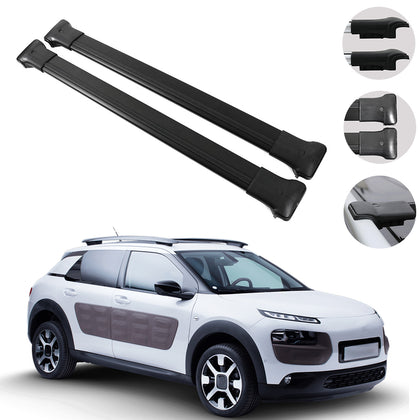 Roof Rack Cross Bars Luggage Carrier Fits Citroen C4 Cactus 2014-2020