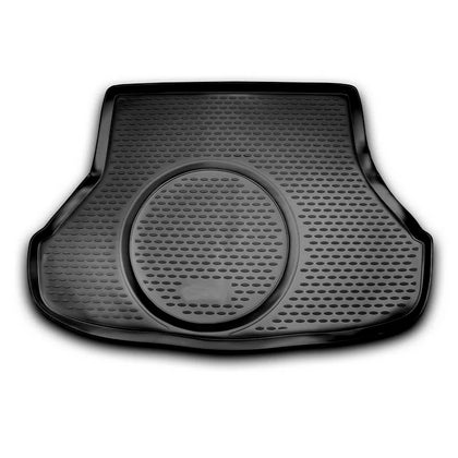 Omac usa - Rear Cargo Trunk Floor Mat Molded Boot Tray Liner fit to KIA FORTE 2014-2018 - Omac Shop Usa - Auto Accessories