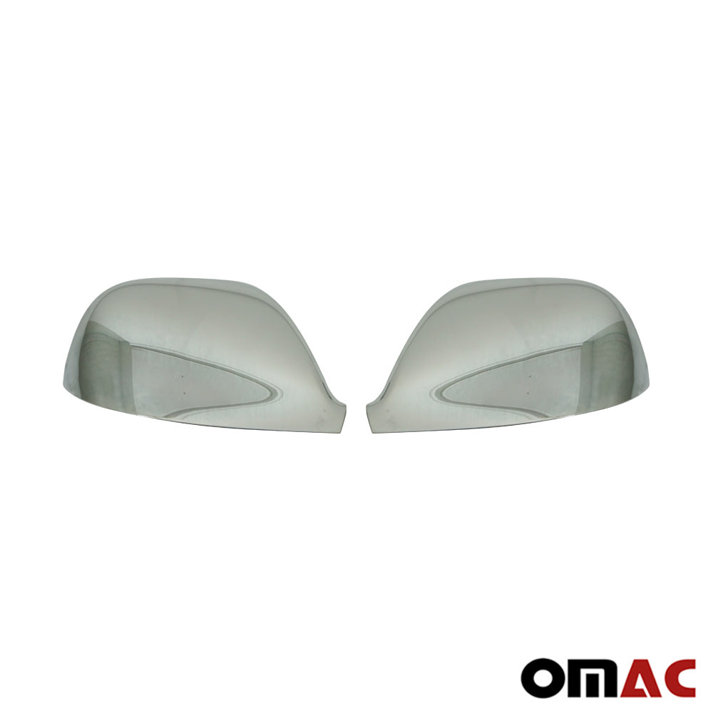 Fits VW Transporter 2010-2015 Chrome Side Mirror Cover Cap 2 Pcs