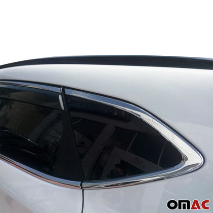 Chrome Window Frame Cover Trim 14 Pcs S.Steel for Hyundai Tucson 2016-2019 Omac Shop Usa - Auto Accessories
