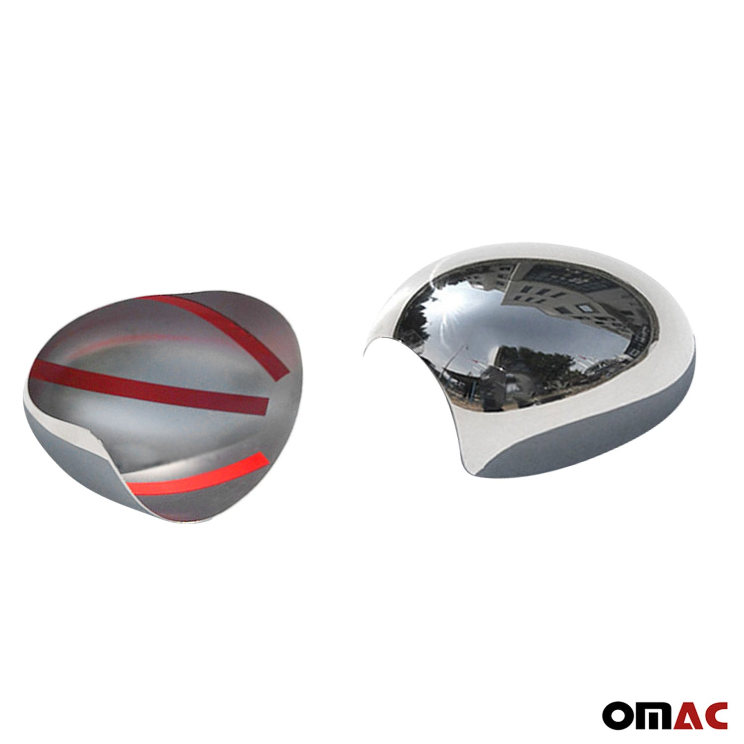 Fits Mini Cooper Countryman R60 2010-2016 Chrome Mirror Cover Cap Set