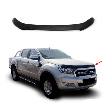Bug Shield Hood Deflector Guard Bonnet Protector for Ford Ranger 3 2015-2019 Omac Shop Usa - Auto Accessories