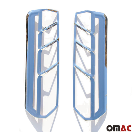 For Ford Transit 250 2015-2020 Chrome Rear Brake Stop Light Frame Trim 2 Pcs