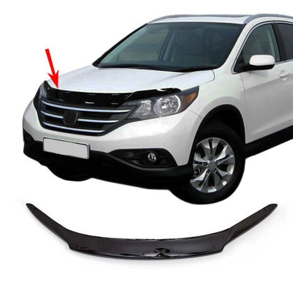 Front Bug Shield Hood Deflector Guard Bonnet Protector for Honda CRV 2012-2016