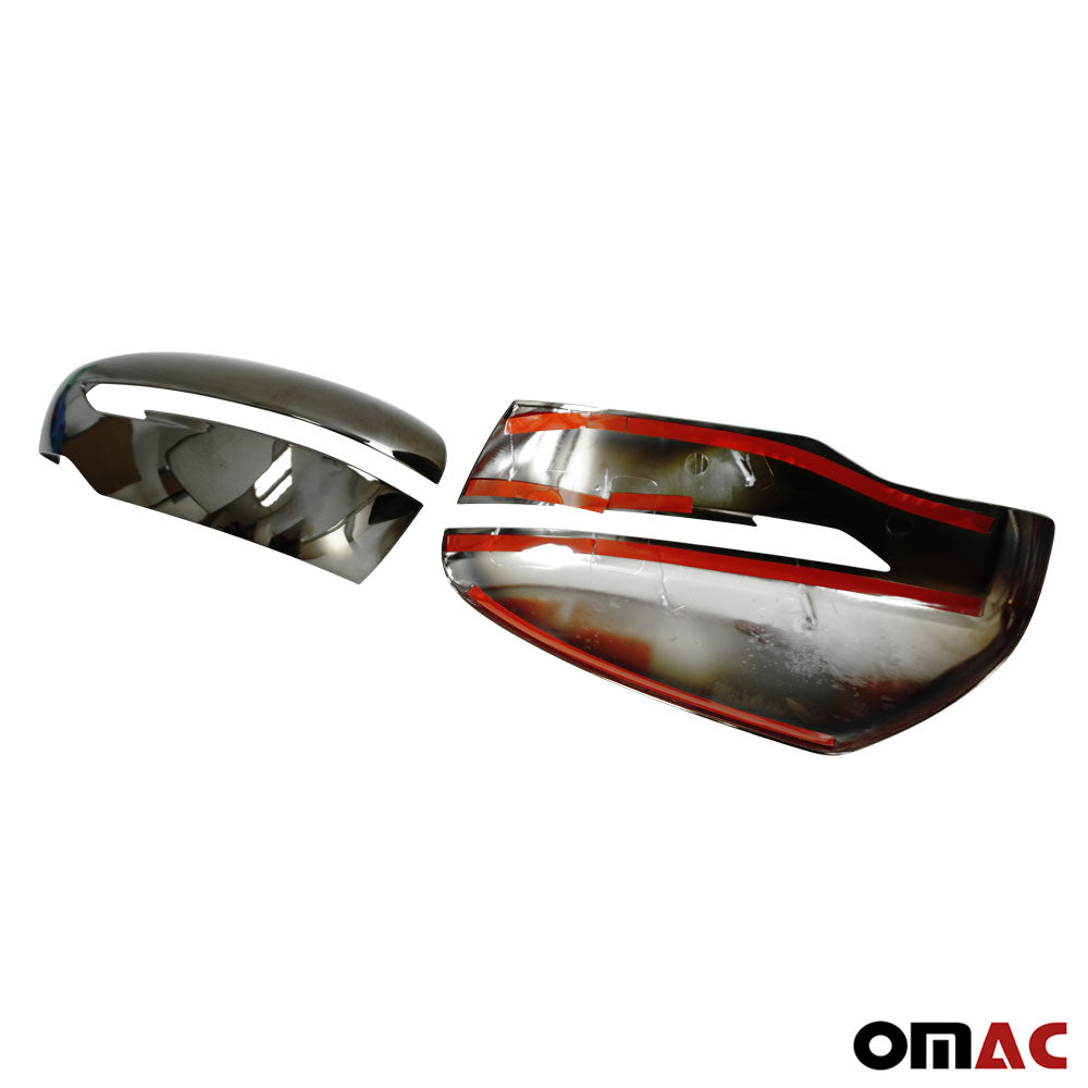 Chrome Side Door Rear View Mirror Cover For Nissan Murano 2015-2019 Trim Cap