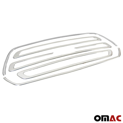 Omac usa - FORD TRANSIT 2014- Chrome Front Grille Cover AND Surround Frame Kit S.Steel 5Pcs - Omac Shop Usa - Auto Accessories