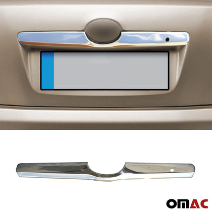 Omac usa - TOYOTA CAMRY 2007-2011 Chrome Rear Trunk Door Handle Licence Plate Trim S. Steel - Omac Shop Usa - Auto Accessories