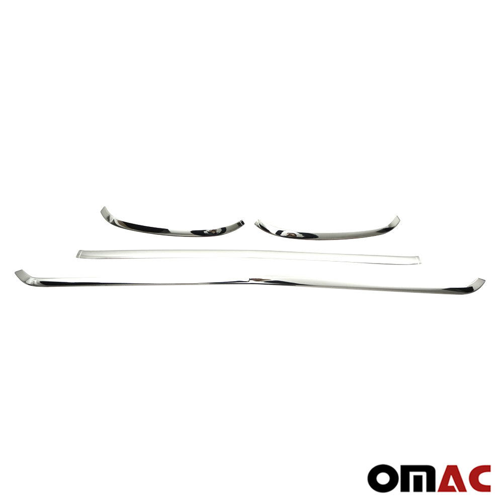 Fits Mercedes Sprinter 2019-2020 Chome Front Grill Trim Frame Stainless 4 Pcs