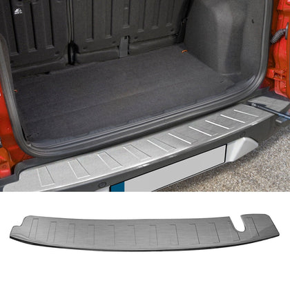 Chrome Rear Bumper Guard Trunk Sill Cover Brushed For Ford Ecosport 2012- 2017