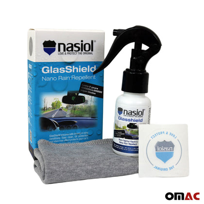 NASIOL Glasshield 1.7 Oz Extreme Nano Rain Repellent Spray for Car Windshields