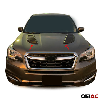 Decorative Air Flow Intake Scoop Bonnet Vent Hood For Subaru Forester 2017-2020