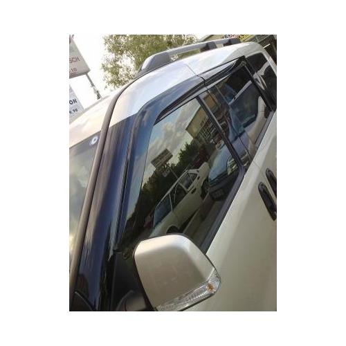 For Dodge Ram Promaster City 2015- Side Windows Rain Wind Deflector Guard 4 Pcs.