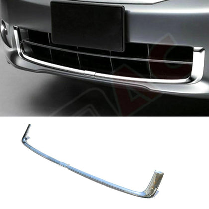Fits Acura TSX 2009-2014 Chrome Front Bumper Grill Frame Trim Cover 2 Pcs Omac Shop Usa - Auto Accessories