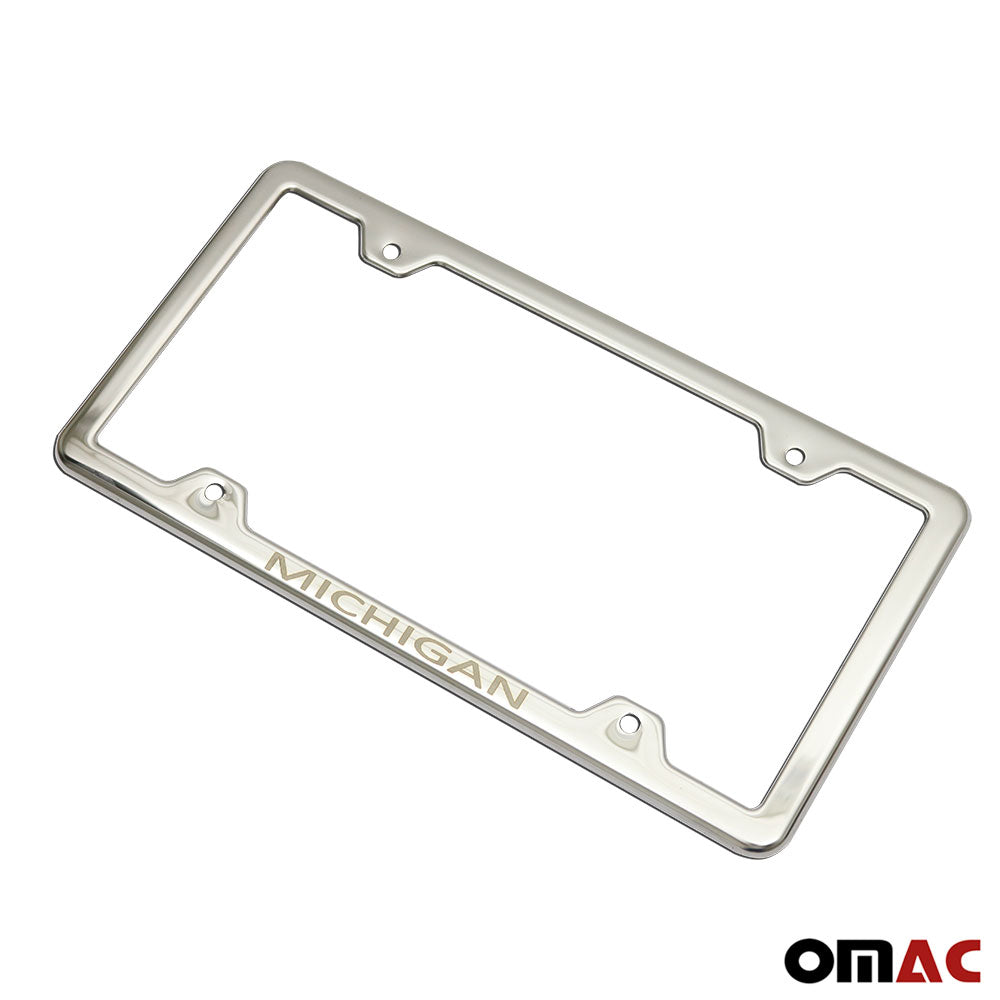 Toyota Tacoma Chrome Metal License Plate Frame