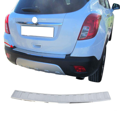 Chrome Rear Bumper Guard Trunk Sill Protector S.Steel For Chevy Trax 2013-2020