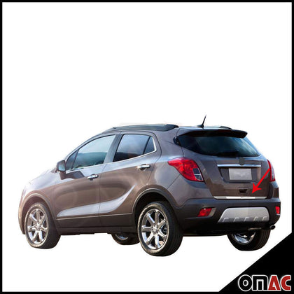 For Buick Encore 2013-2020 Lower Tailgate Trim Trunk Door Streamer S.Steel Omac Shop Usa - Auto Accessories