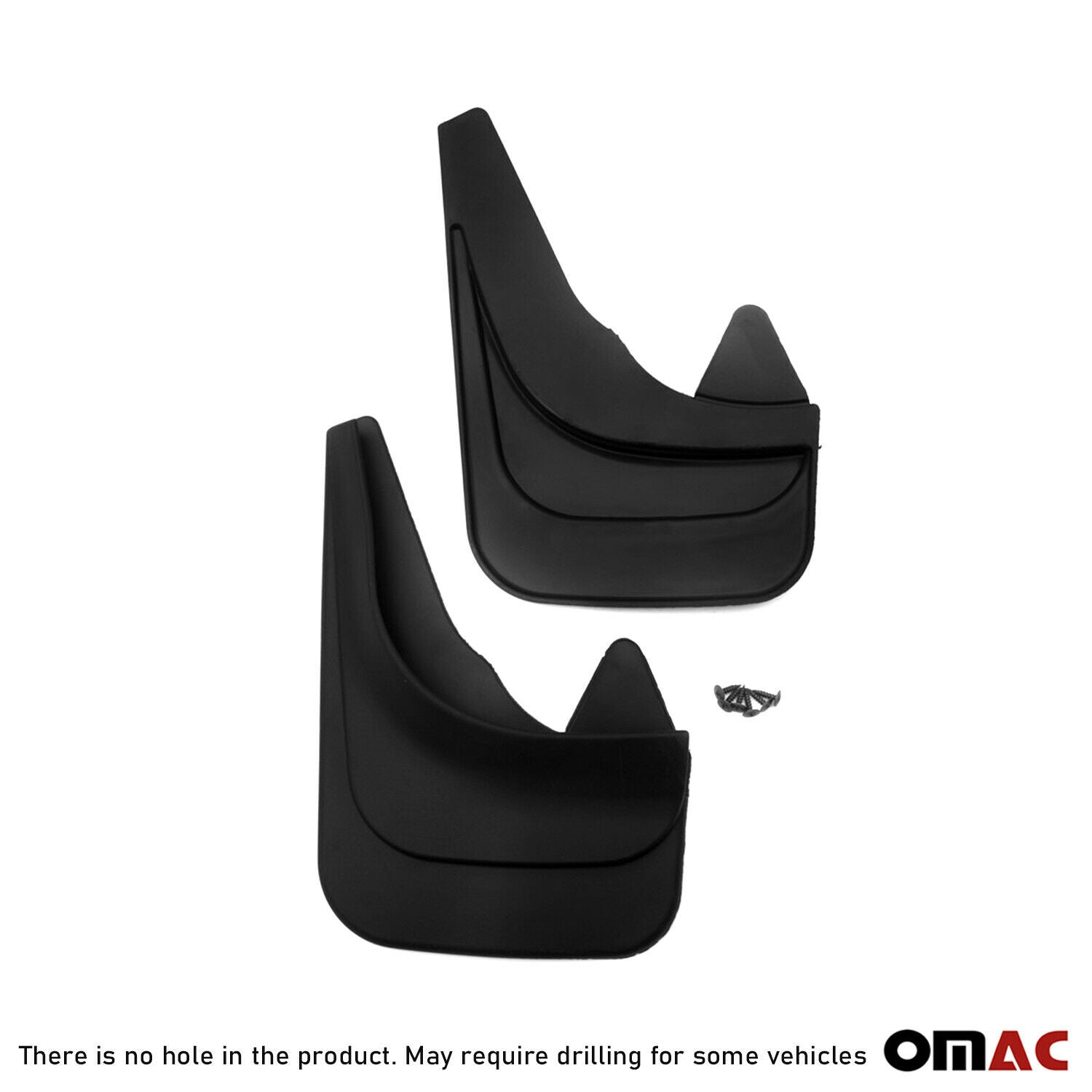 Fits Suv Hatchback Sedan Wagon Cars Front Mud Flaps Black Splash Guards 2 Pcs.