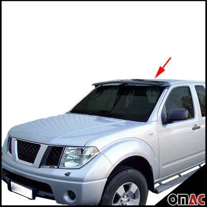 Omac usa - Front Sun Visor Protector Windshield Deflector for NISSAN FRONTIER 2005-2019 - Omac Shop Usa - Auto Accessories